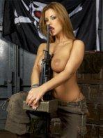 Army babe Dorothy