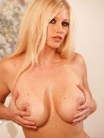 Busty blonde milf Nikita
