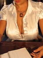 Busty secretary Maritza