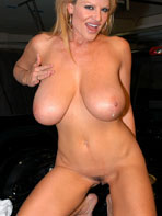 Kelly Madison in the car