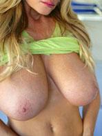The queen of big boobs