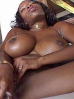 Vanessa Blue with dildo