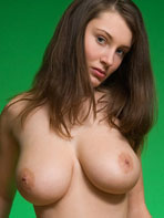 Brunette Femjoy model Ashley