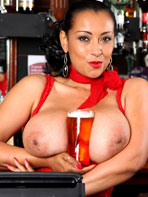 Barmaid Danica Collins