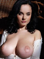 Busty black-haired Lana
