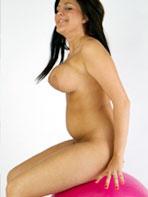 Busty Boob Study model Cindy