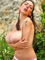 Anya Zenkova outdoors