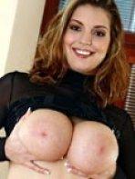 Liana shows her big boobs