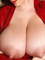 September Carrino has long nipples