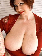 BigTitsBabes.net - Big Tits in red