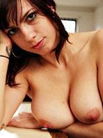 Busty tattooed Naomi nude