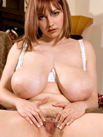 Christy Marks shows pussy