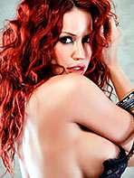 Bianca Beauchamp in fluffy room