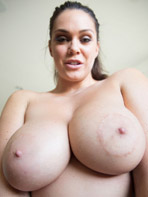 Brunette beauty Alison Tyler fully nude