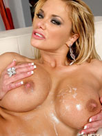Interracial sex photos of Shyla Stylez