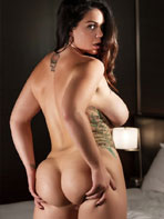 Alison Tyler showing off her big ass