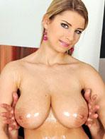 Katarina oiled boobs