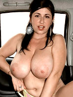 Charming Tits - In the car