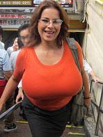 Huge Tits In Public 43