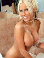 Blonde model Chanty