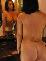 Busty amateur mirror pics