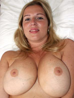 Busty blonde amateur Britney