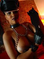 Busty ebony model Yolanda