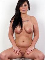 Czech brunette Sabina