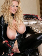 Photos of Kelly Madison in tight latex