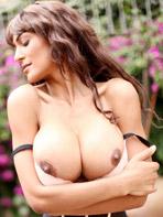 Fernanda Ferrari wearing sexy lingerie