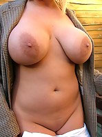 Busty shaved amateur Cherry
