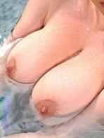 Blonde model Lyla Ashby