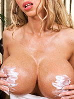 Extreme busty Annina