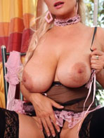 Busty blonde Cassandra at MyBigTitsBabes.com