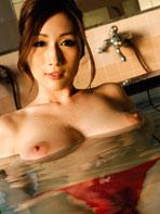 Busty Japanese beauty Julia