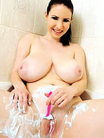Karina Heart showering her big boobs