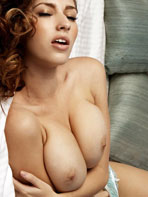 Shay Laren topless in bed