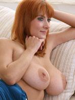 Busty redhead Valory Irene