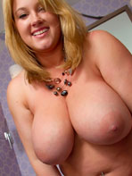 Chubby babe with big tits