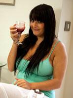 Jenny Baker likes wine