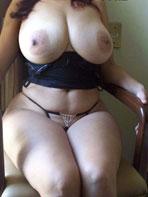 Maritza Mendez in a hotel