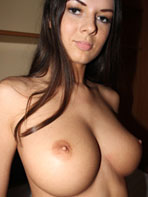 Busty brunette amateur beauty Terry