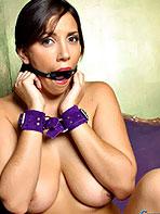 Bondage babe Anna