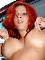 Nude amateur redhead