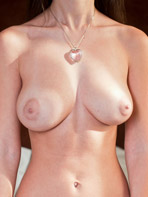 Slim brunette Femjoy model Karen Helen